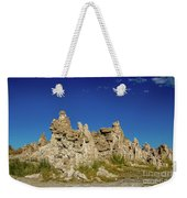 Natural Rock Formation At Mono Lake, Eastern Sierra, California, Weekender Tote Bag