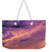 Nebraska Hp Supercell Sunset Weekender Tote Bag