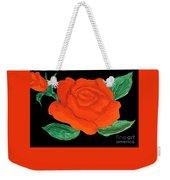 Red Rose, Painting Weekender Tote Bag
