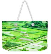 Rice Fields Scenery Weekender Tote Bag