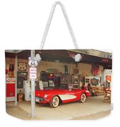 Route 66 Corvette Weekender Tote Bag