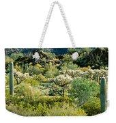 Saguaro Cactus Carnegiea Gigantea Weekender Tote Bag