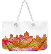Salt Lake City Utah Skyline Weekender Tote Bag