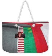 Sebastian Vettel Ferrari  Weekender Tote Bag