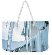 Snowshoe Mountain Village And Restaurants And Shops On A Sunny D Weekender Tote Bag