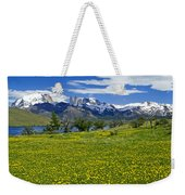 Springtime In Torres Del Paine Weekender Tote Bag
