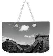 The Great Wall Of China Near Jinshanling Village, Beijing Weekender Tote Bag