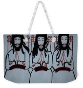 The Holy Trinity Weekender Tote Bag