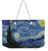 The Starry Night Weekender Tote Bag