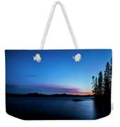 Waldo Lake Weekender Tote Bag
