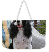#940 D1034 Farmer Browns Springer Spaniel Weekender Tote Bag