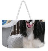 #940 D1036 Farmer Browns Springer Spaniel Happy For You Have A Happy Day Weekender Tote Bag