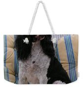 #940 D1045  Farmer Browns Springer Spaniel Weekender Tote Bag