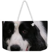 #940 D1049 Farmer Browns Springer Spaniel Weekender Tote Bag