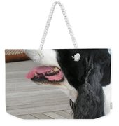 #940 D1060 Farmer Browns Springer Spaniel Weekender Tote Bag