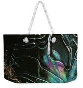 9.close-up Ice Prismatics, Loch Na Achlaise Weekender Tote Bag