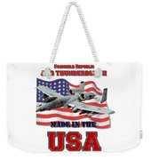 A-10 Thunderbolt Made In The Usa Weekender Tote Bag
