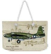 A-20 Havoc - Irene Weekender Tote Bag