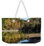 A Autumn Walk Weekender Tote Bag