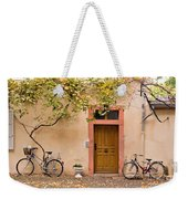 A Back Lane In Speyer Weekender Tote Bag by Louise Heusinkveld