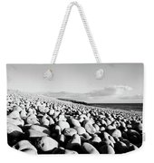 A Beach Of Stones Weekender Tote Bag
