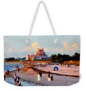 A Beach Scene Weekender Tote Bag