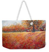 A Beautiful Autumn Day Weekender Tote Bag
