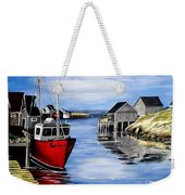 A Beautiful Day At Peggy's Cove  Weekender Tote Bag