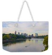 A Beautiful Day In Philadelphia Weekender Tote Bag
