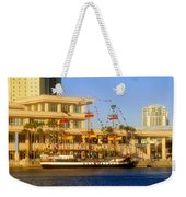 A Beautiful Day In Tampa Bay Weekender Tote Bag