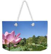 A Beautiful Emperor Lotus Blooms Weekender Tote Bag