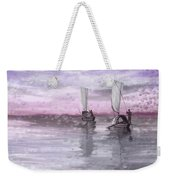 A Beautiful Morning For Fishing Weekender Tote Bag