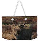 A Beaver's Work Weekender Tote Bag
