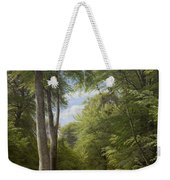 A Beech Wood In May Near Iselingen Manor Weekender Tote Bag