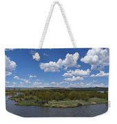 A Bend In The River Weekender Tote Bag