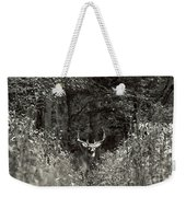 A Big Buck In Rut Weekender Tote Bag