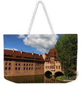 A Big Sky Over Old Architecture Weekender Tote Bag