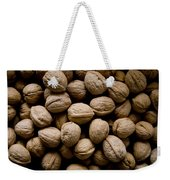 A Bin Of Walnuts At A Fruit Stand Weekender Tote Bag
