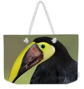 A Bird For His Bill.. Weekender Tote Bag