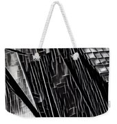 A Black-and-white Cookie Weekender Tote Bag