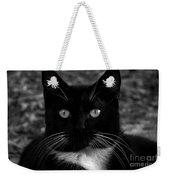 A Black Cat's Life -florida Weekender Tote Bag