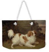 A Blenheim Spaniel Weekender Tote Bag