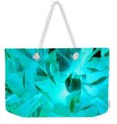 A Bloom In Turquoise Weekender Tote Bag