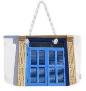 A Blue Window In Morocco Weekender Tote Bag