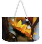 A Bottle And Sunflowers Weekender Tote Bag
