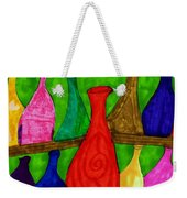 A Bottle Collection Weekender Tote Bag