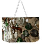 A Bottle In The Wall Weekender Tote Bag