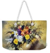 A Bouquet For Elizabeth Weekender Tote Bag