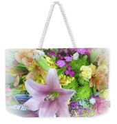 A Bouquet For My Love 46 Weekender Tote Bag