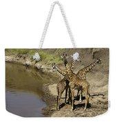 A Bouquet Of Giraffes Weekender Tote Bag
